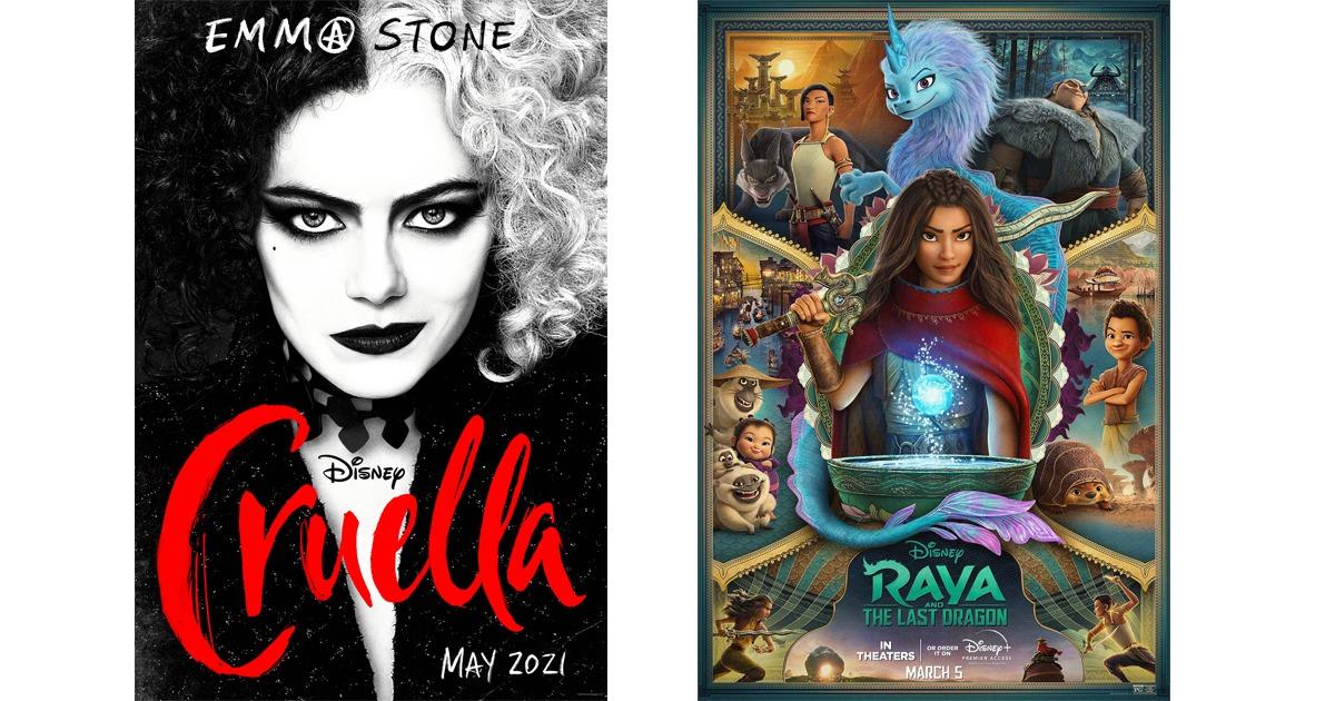 Cruella/Raya at Valle Drive-In