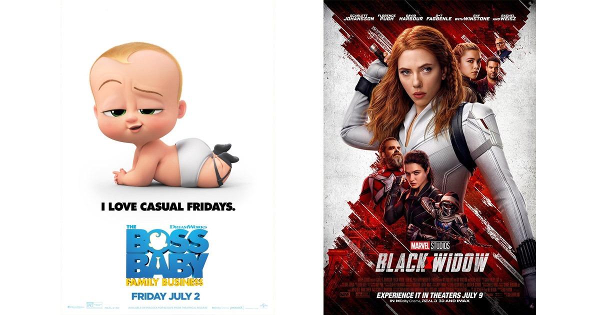 Baby Boss 2 and Black Widow