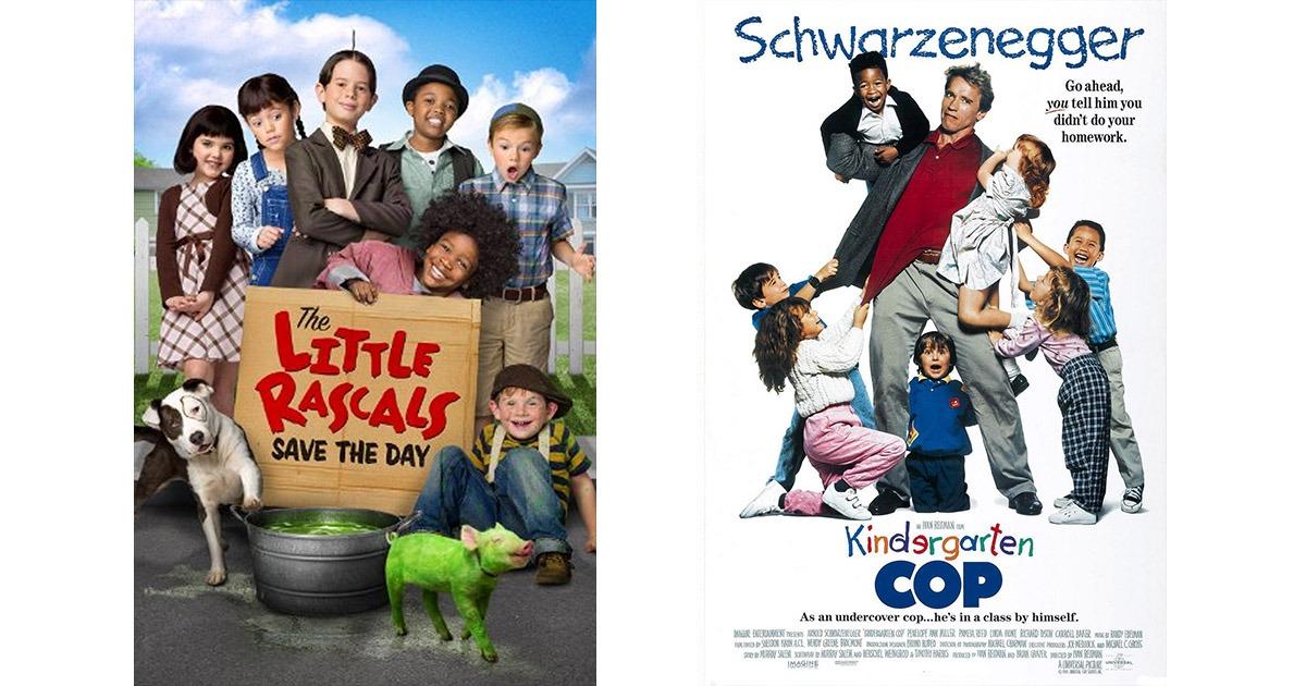 The Little Rascals and Kindergarten Cop