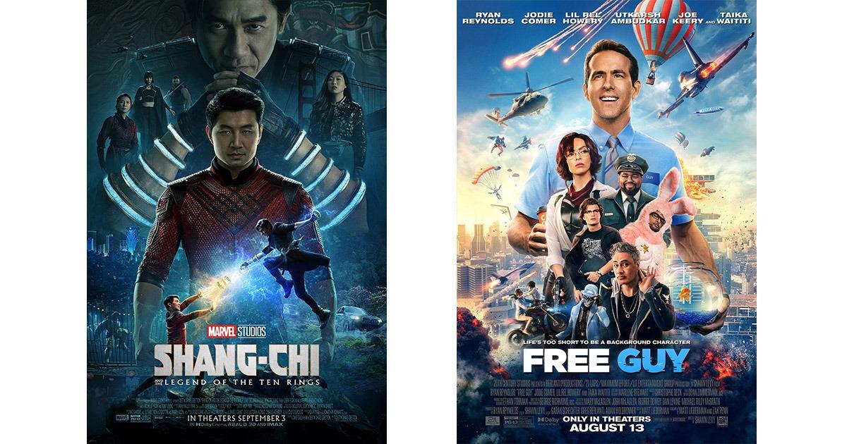 Shang-Chi and Free Guy